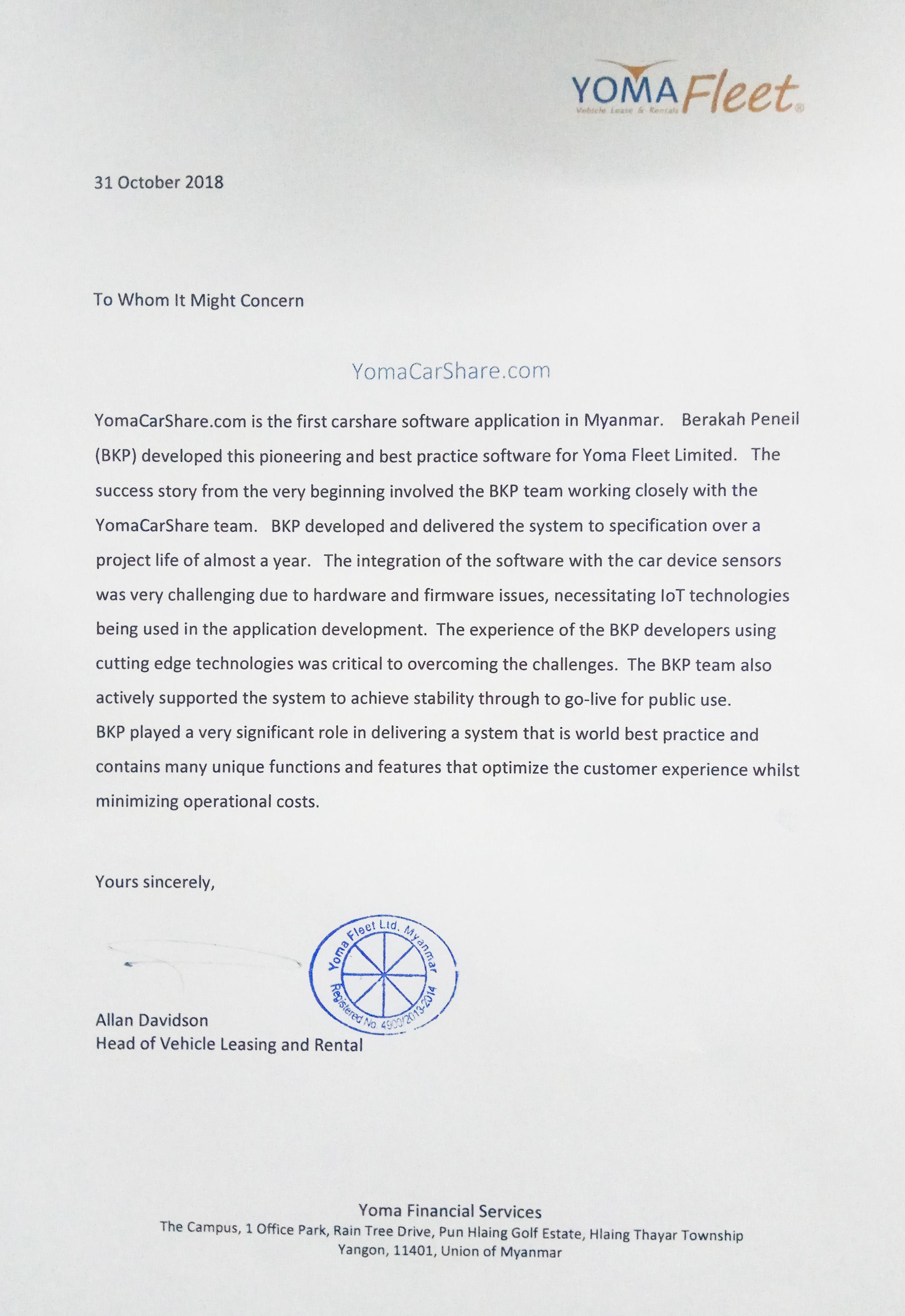 Yoma-Carshar-Testimoniam